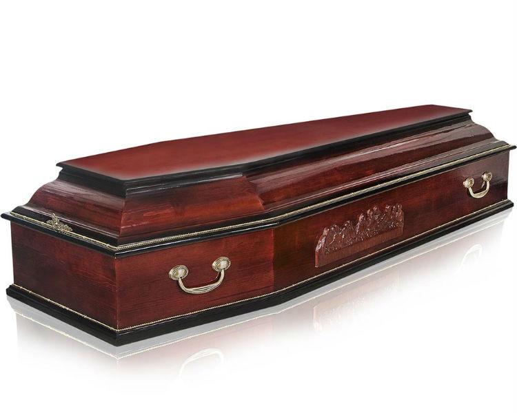 Гроб Классика-6 темный