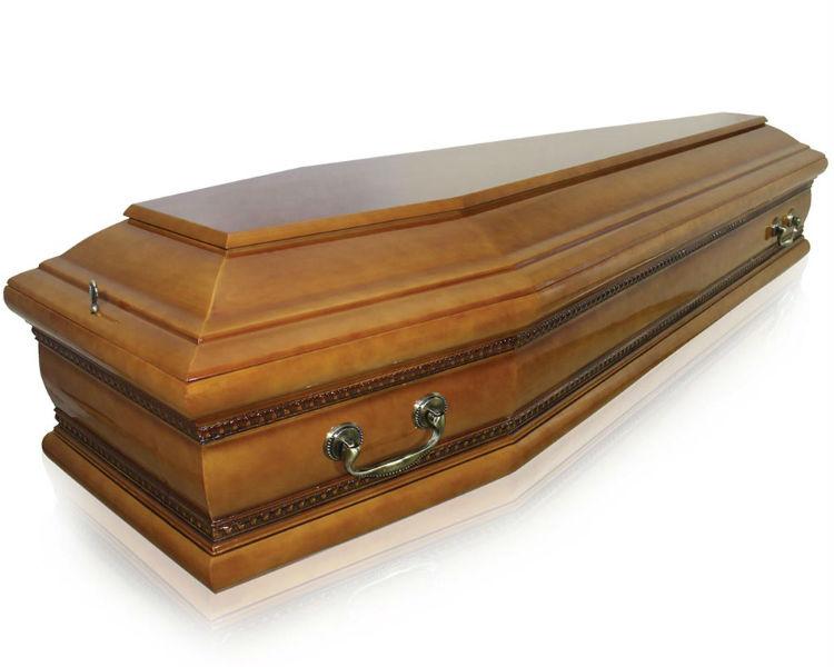 Гроб Бергамо светлый