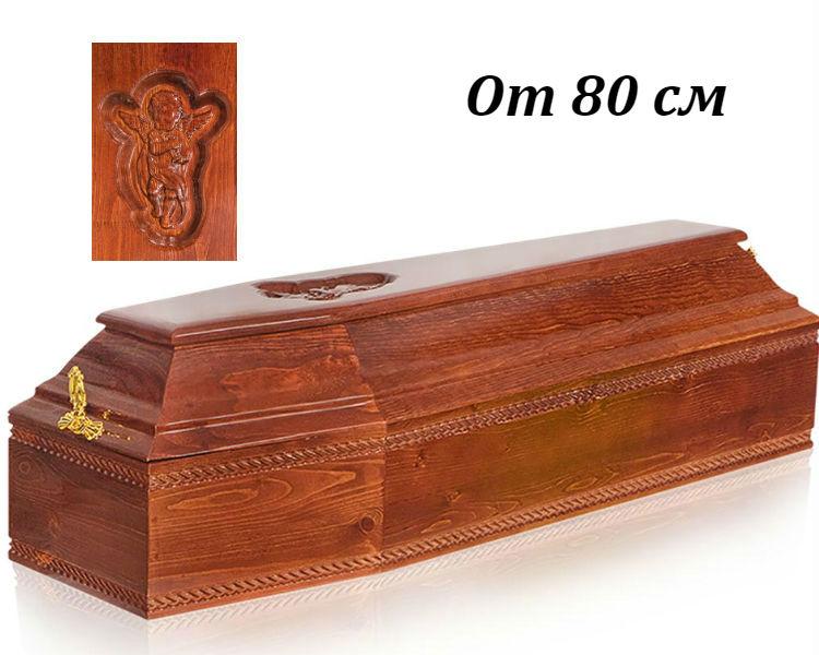 Гроб детский Б-6 темный