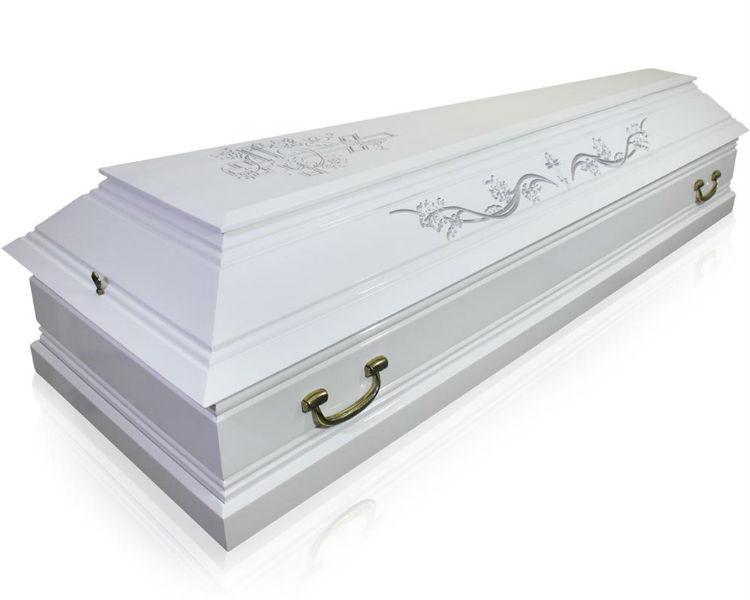 Гроб Лоза белый