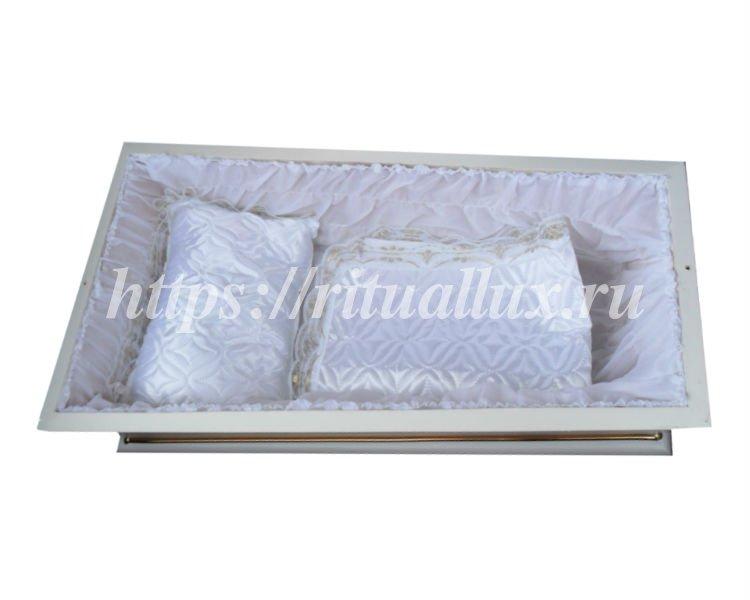 Подушка и покрывало в детский гроб
