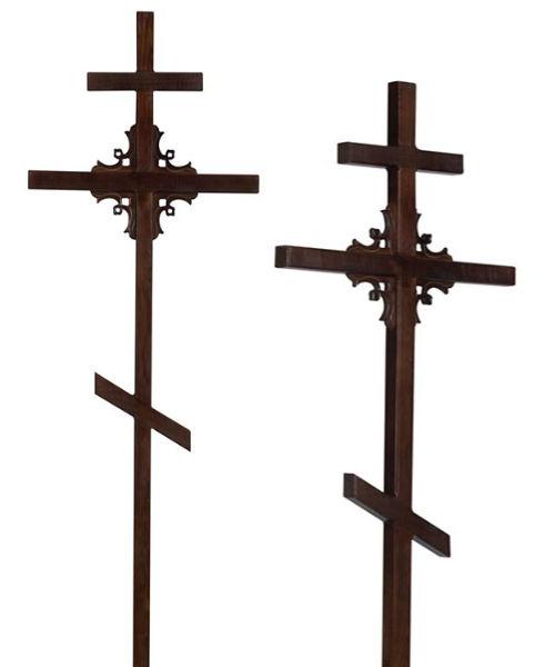 Крест сосна Угловой узор 50*50