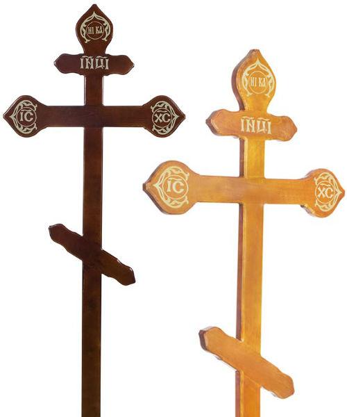 Крест сосна Фигурный