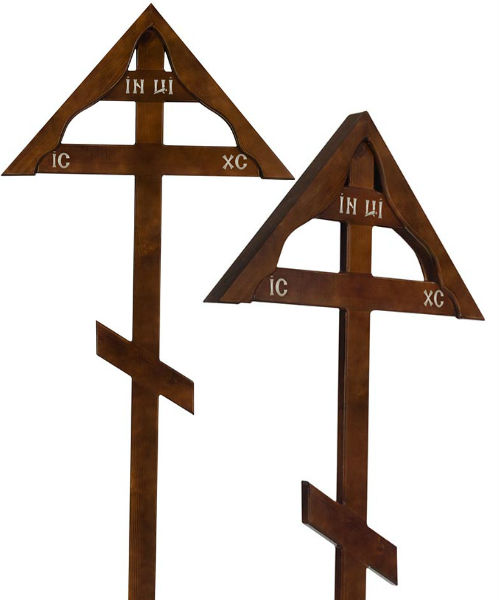 Крест сосна Домик