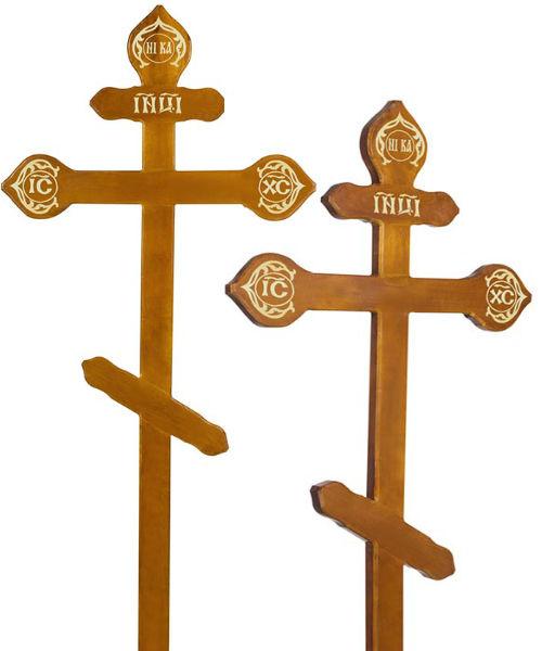 Крест дуб Фигурный
