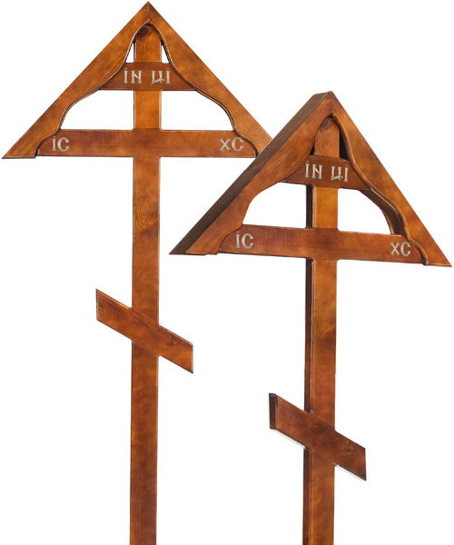 Крест дуб Домик