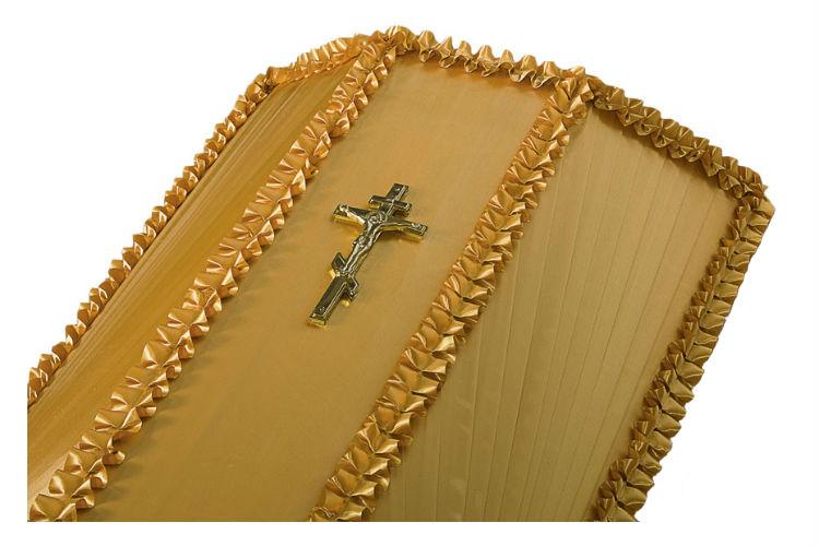Крест на крышку гроба малый