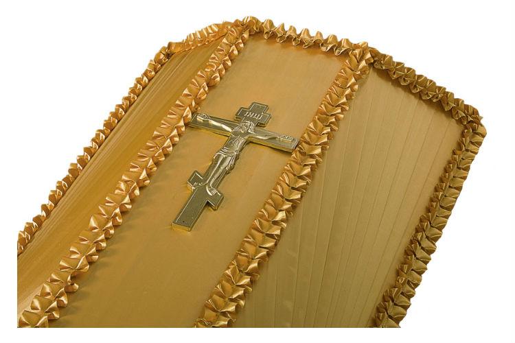 Крест на крышку гроба средний